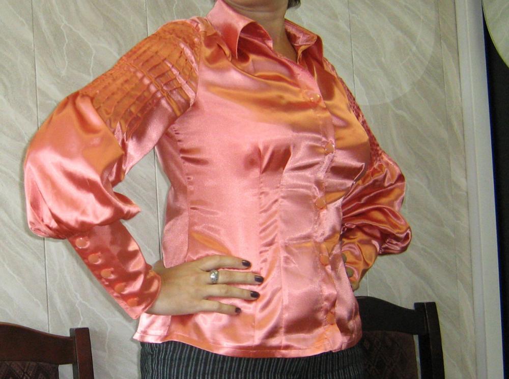 блузка атласная 01/2008