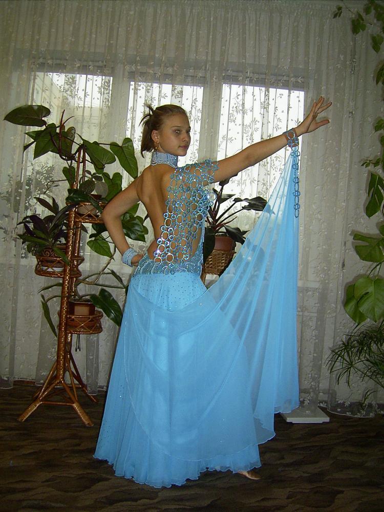 Платье стандарт для бальных танцев 275