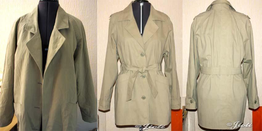 Перешить своими руками старое пальто 6