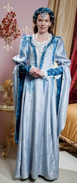 Свадебная одежда 18 века в россии