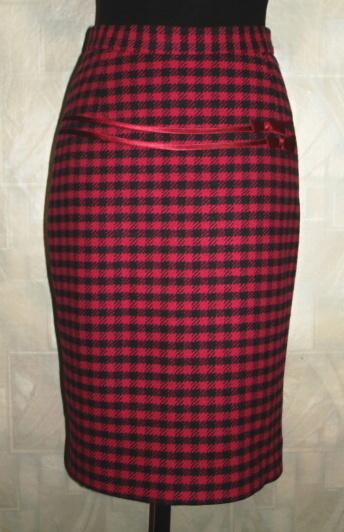драповая юбка фото