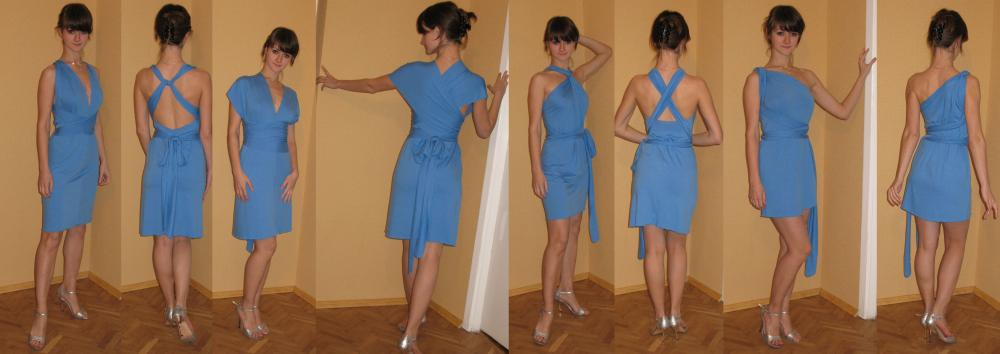 Цвет платья в спортивных танцах.  Выкройка платье трансформер.