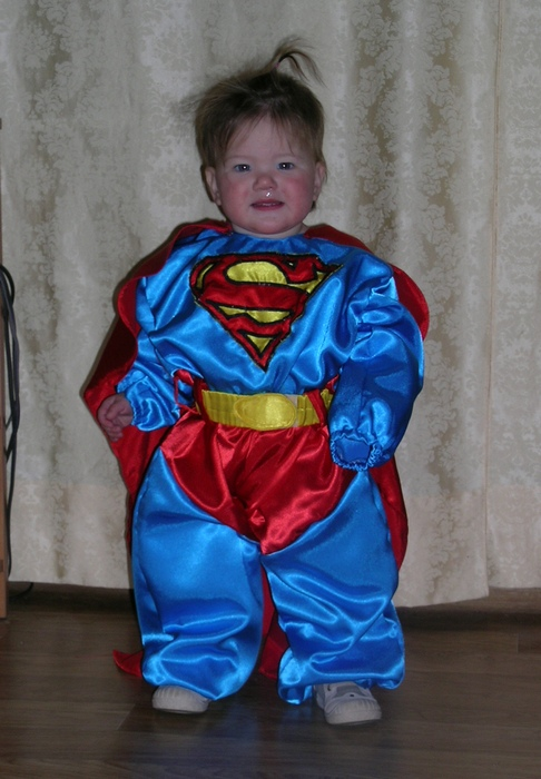 Костюм супермена ребенку своими руками