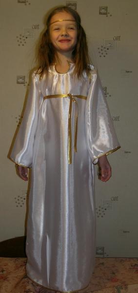 Платье ангела своими руками для девочки