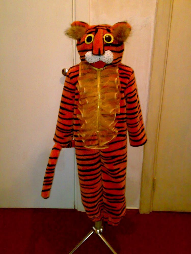 Как сделать костюма тигра 39