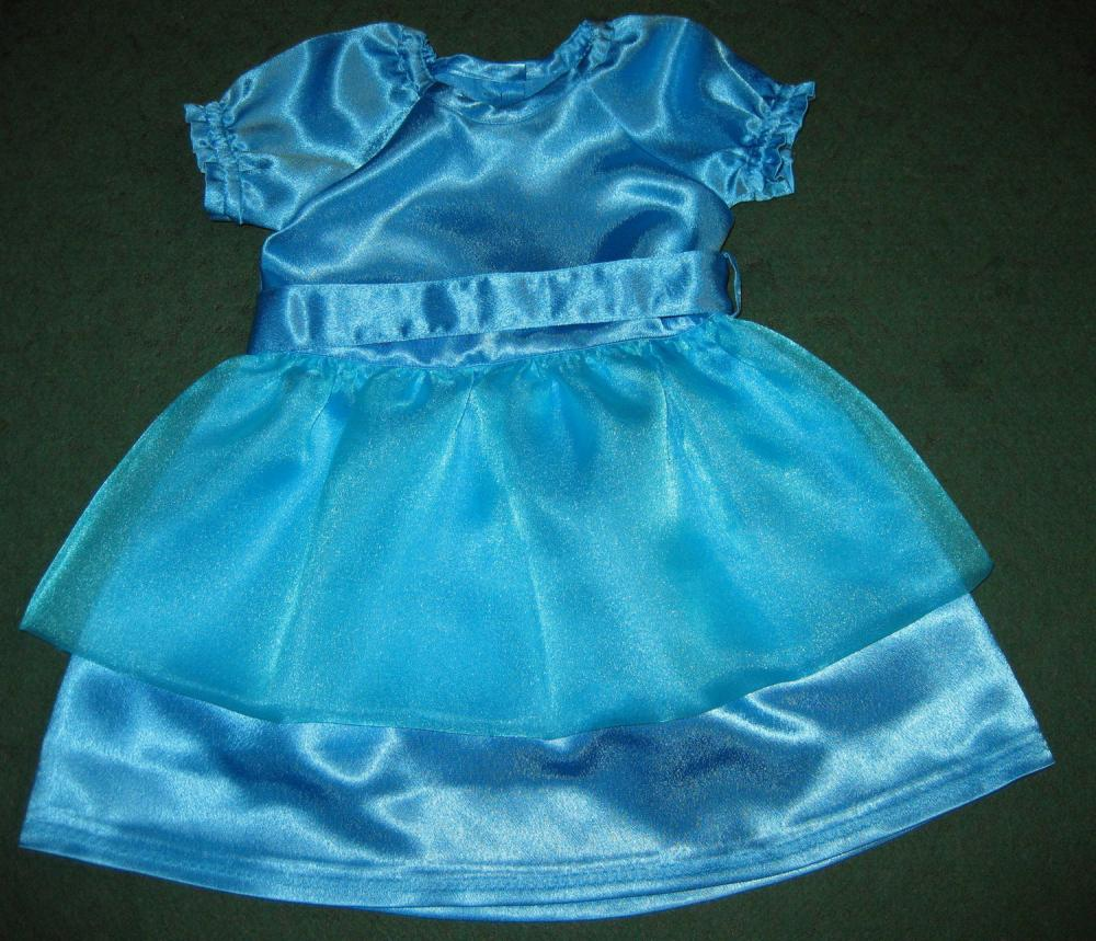 Платье для племянницы к новому году.