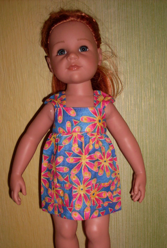 Анабелька 1. Выкройка одежды для куклы Беби Анабель, 46см