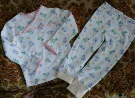Пижамка для дочки  друга