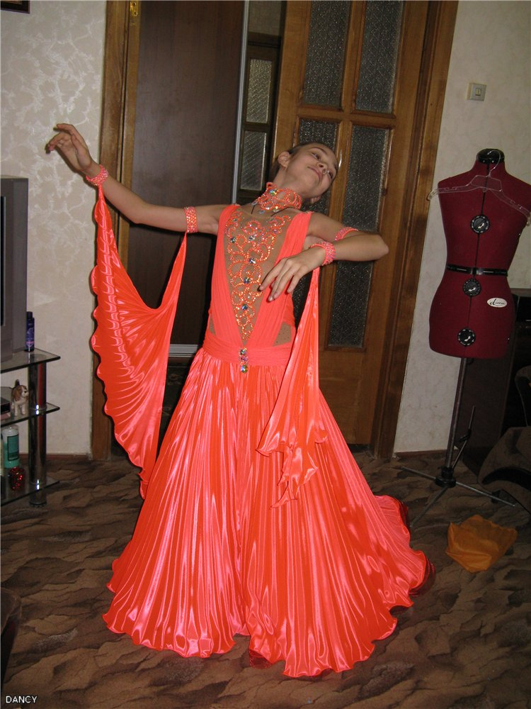 Выкройка для бального платья стандарт