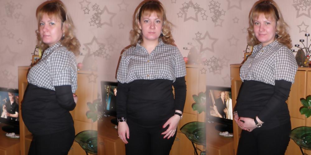 Удобная кофта для беременной