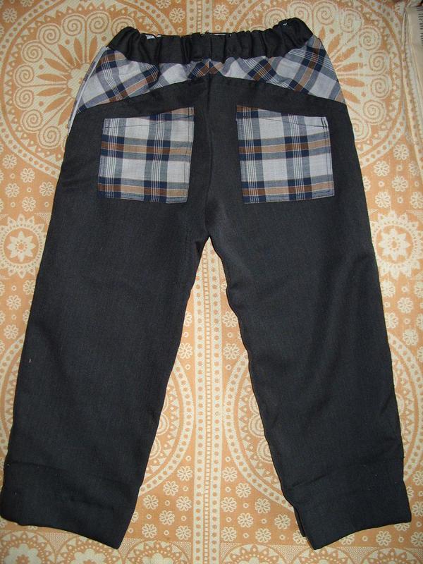 брюки для сына