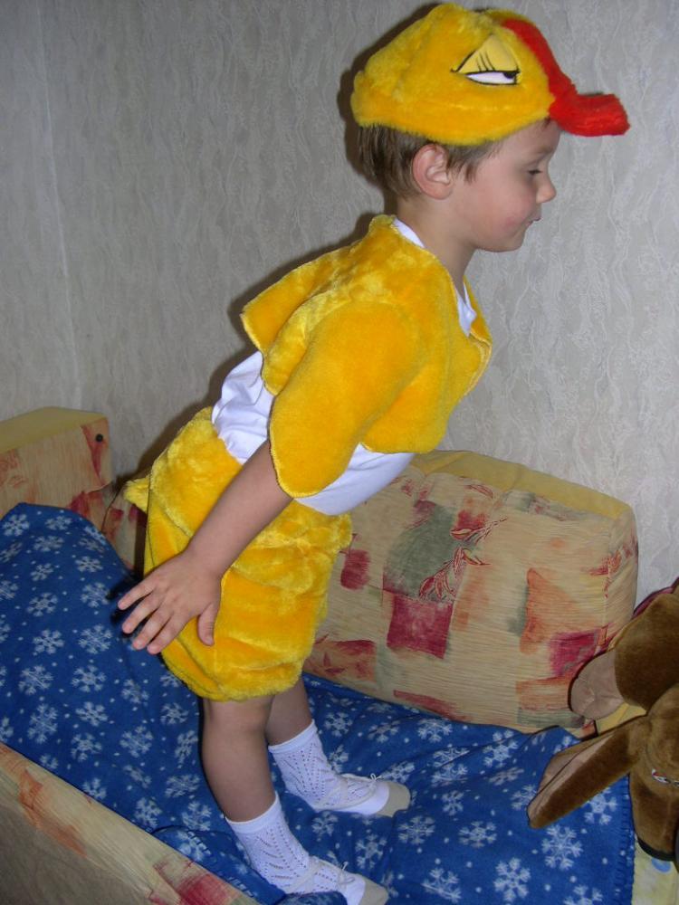 Выкройка костюма цыпленка как сшить