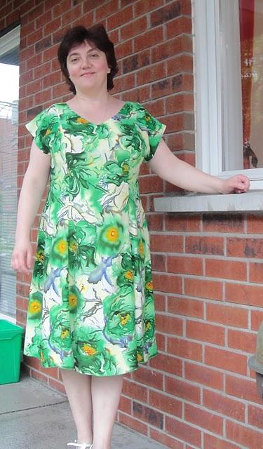 Как сшить ситцевое платье