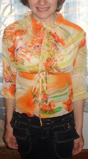 Блузка для клиентки