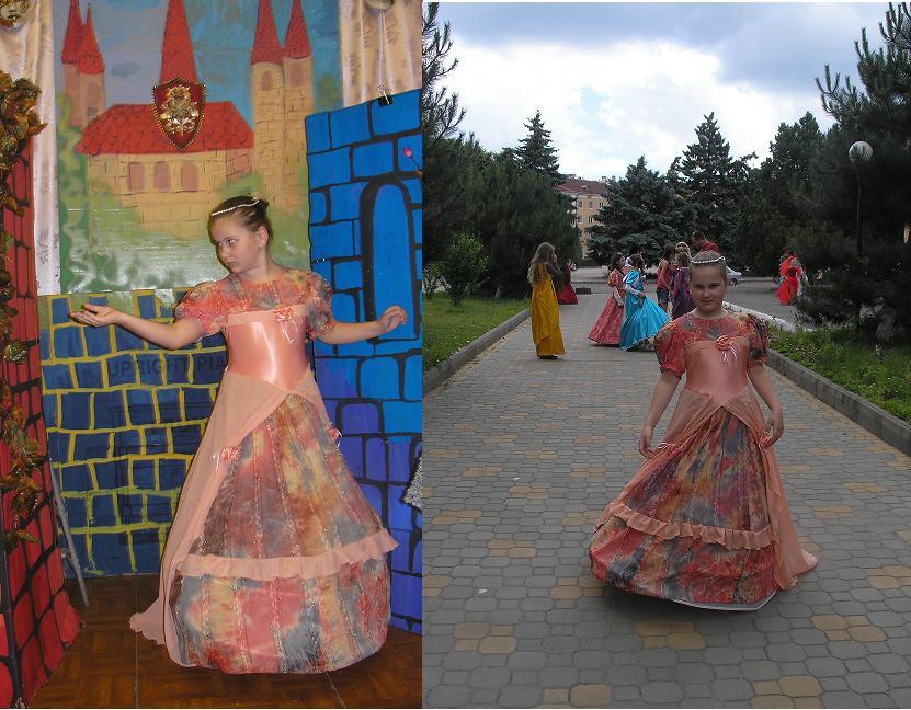 Платье для постановки в худ. школе