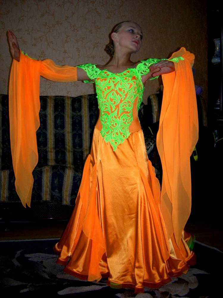 Выкройка платье для танцев стандарт