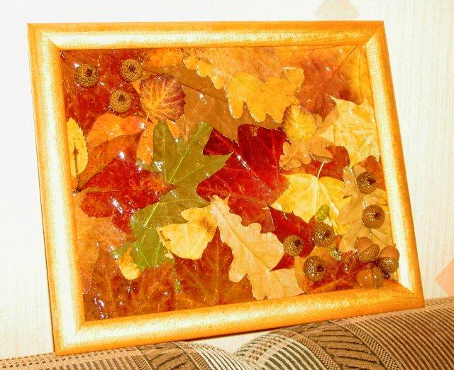 Поделки с подручными материалами на тему осень