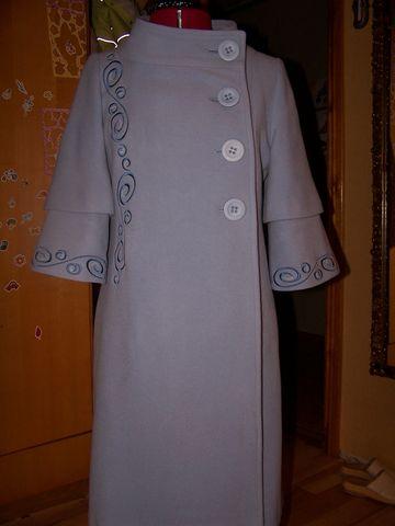 Мастер класс простое пальто
