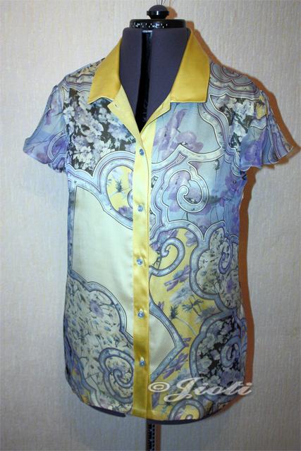 блузка из шифона
