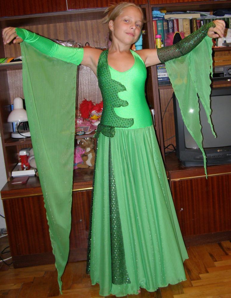 Как пошить платье на вальс