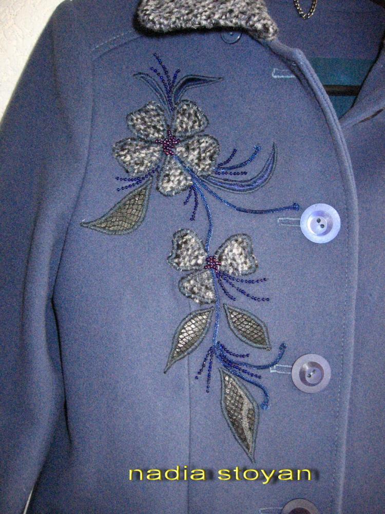 Узоры вышивки пальто - Жаккардовые узоры спицами