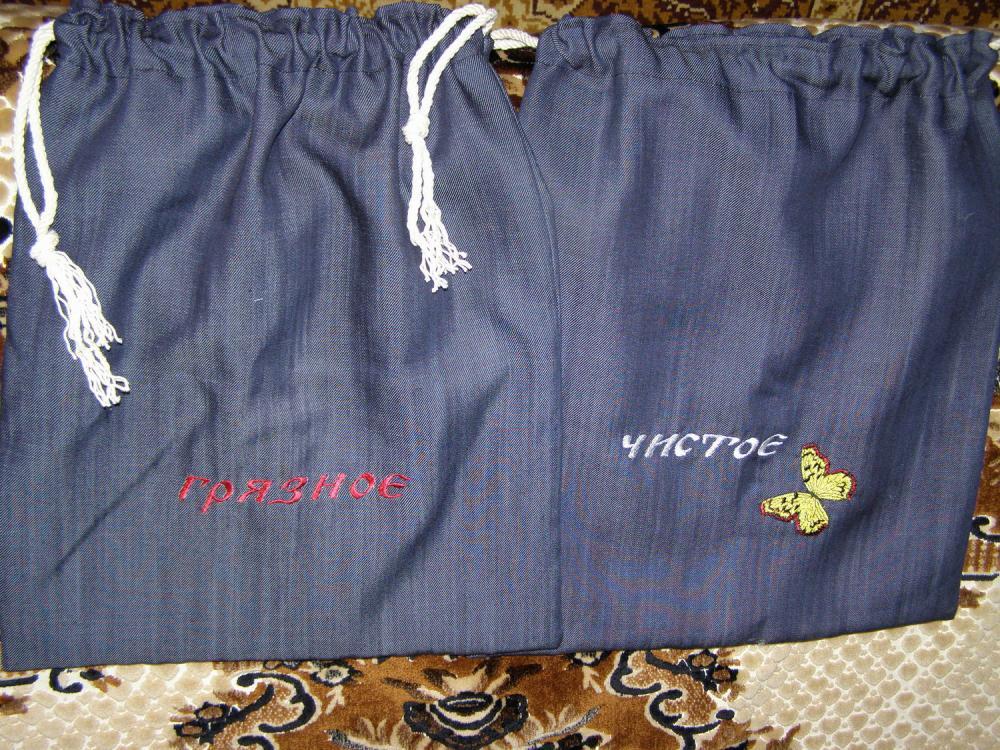 Мешочки для одежды в детский сад своими руками