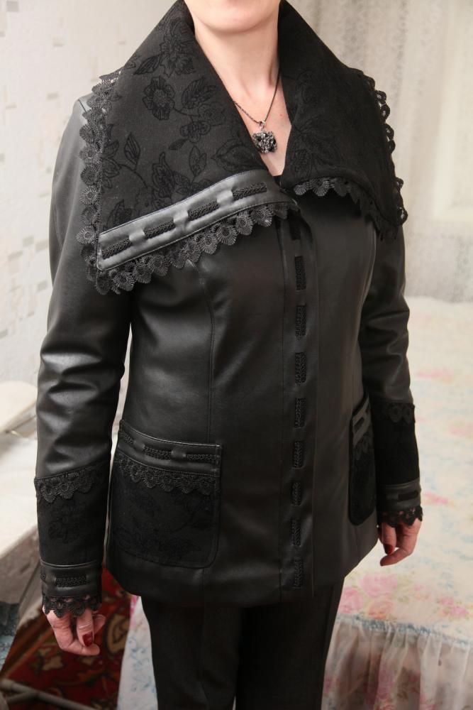 旧皮衣和旧牛仔衣变身 - 柳芯飘雪 - 柳芯飘雪的博客