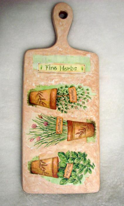 "Ароматические травы - тоже ""кухонная"" тематика"