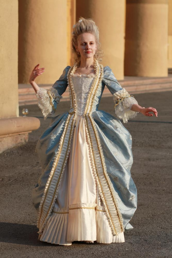 Выкройка платье 18 век