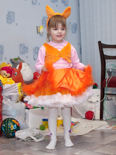 Выкройка на девочку костюма белочки - Выкройки одежды