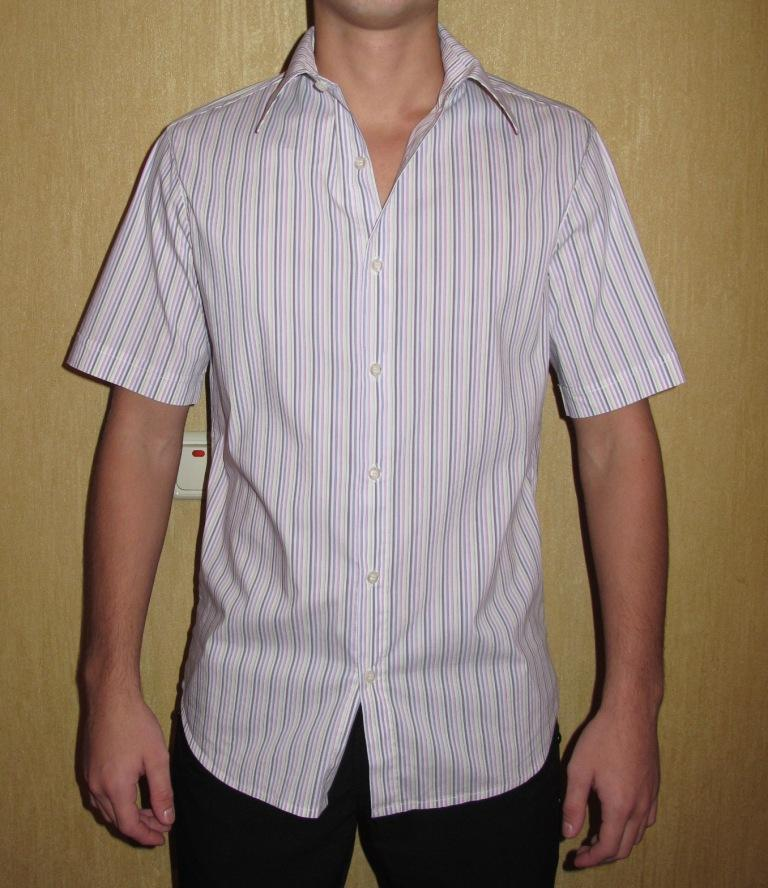 Как сшить мужскую рубашку - выкройка от А 20
