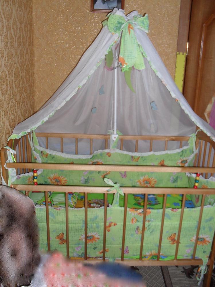 Балдахин на детскую кроватку своими руками как сделать