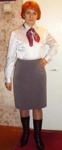 Моя первая юбка в стиле НЛ