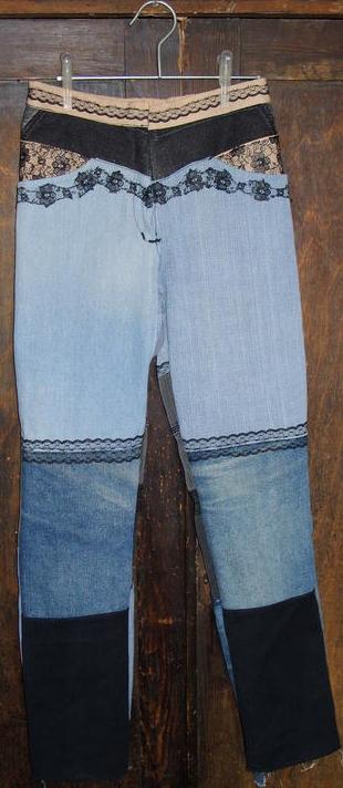 брюки для племянницы утилизация джинс