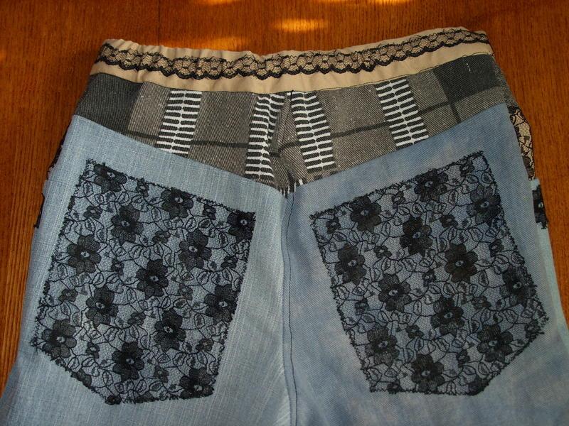 брюки для племянницы