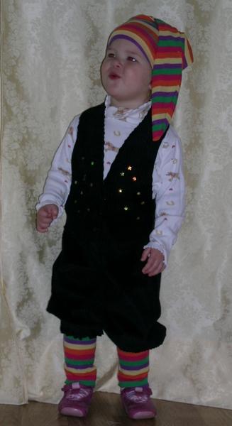 Костюм гнома для мальчика своими руками выкройки