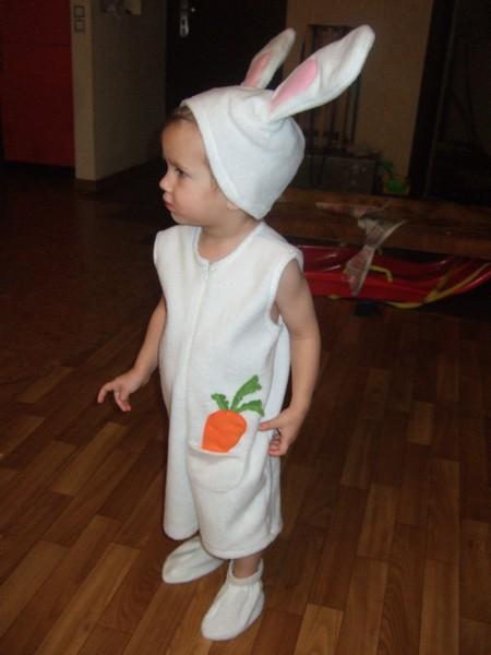 Как сшить костюм зайца на новый год мальчику