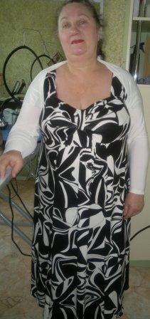 Комплектик - трикотажные платье и болеро