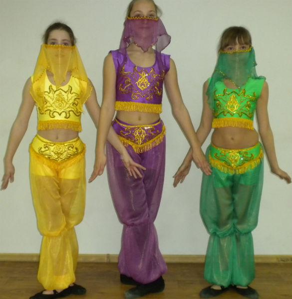 Как сделать костюм восточный своими руками
