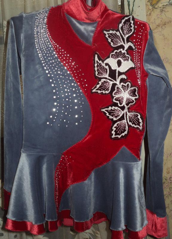 Выкройки фигурного катания платья