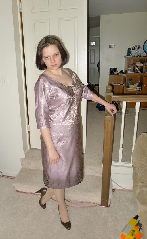 Продолжение платья Патронес
