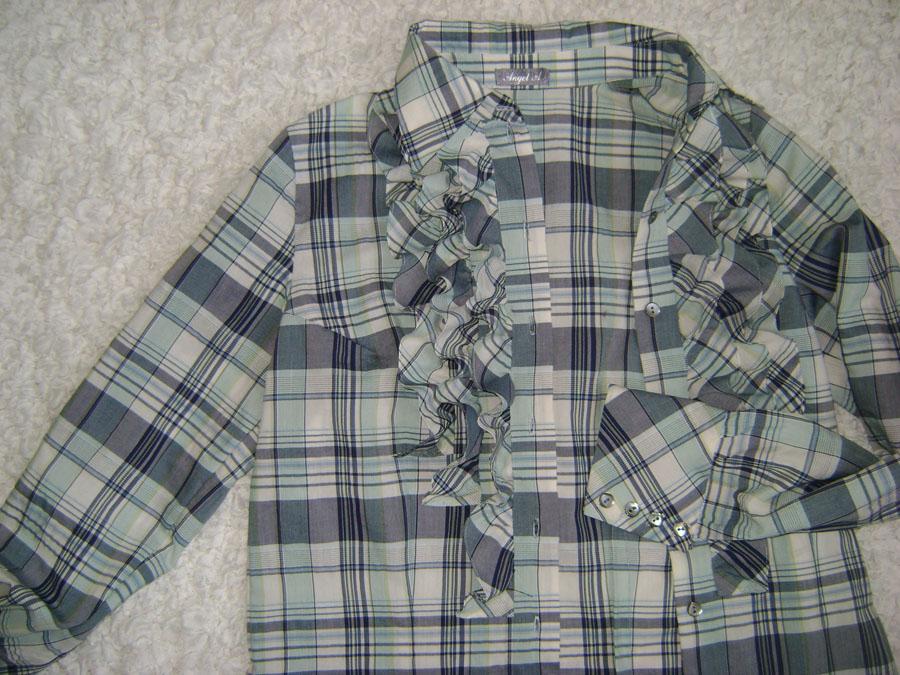 Блузка с запонками