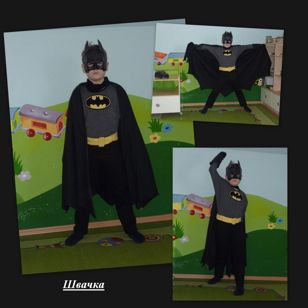 Выкройка костюма бэтмена своими руками 4