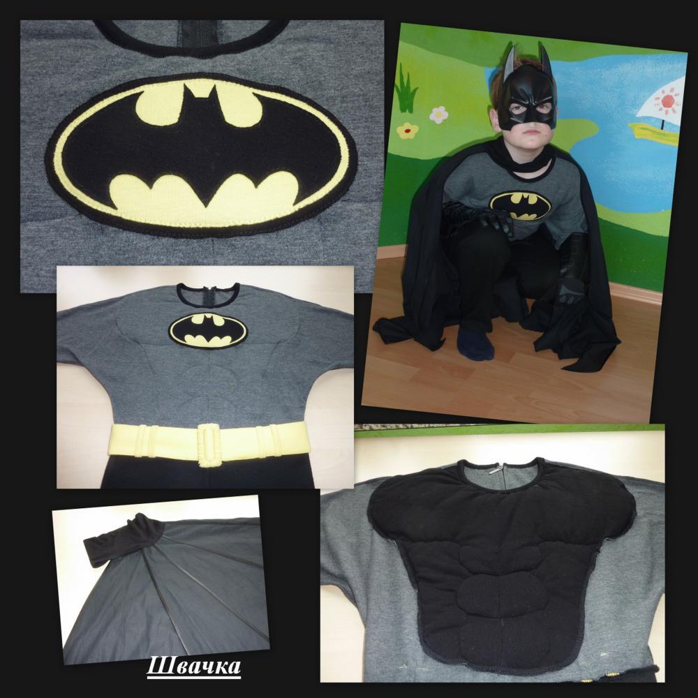 Выкройка костюма бэтмена своими руками