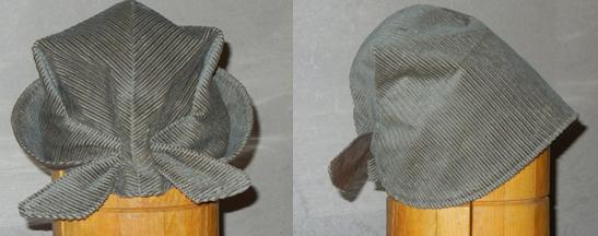выкройка осенней шляпки