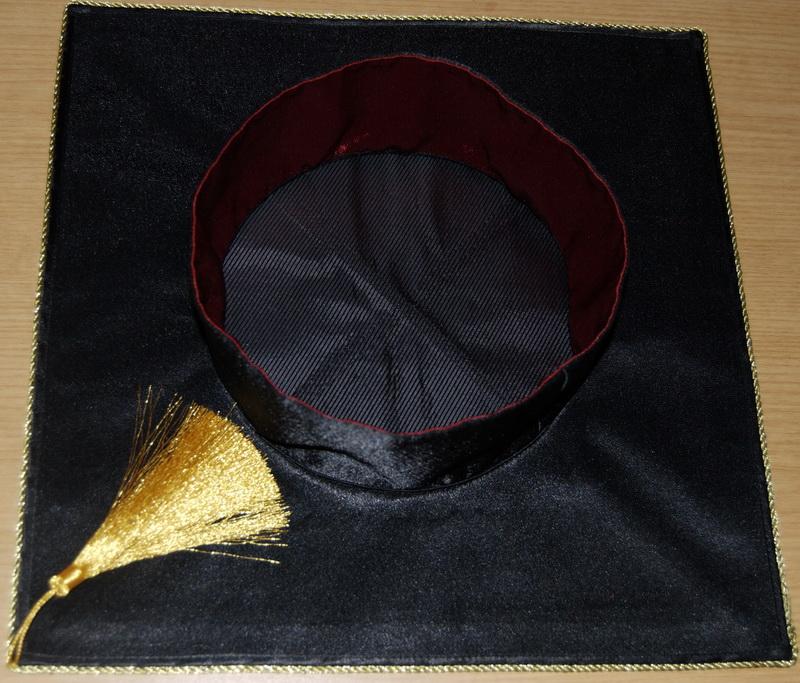 Как сшить шапочка выпускника