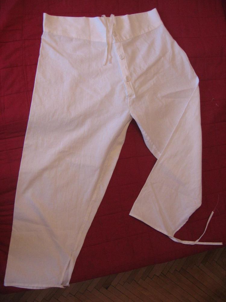 исподние штаны по приказу от 1907г.