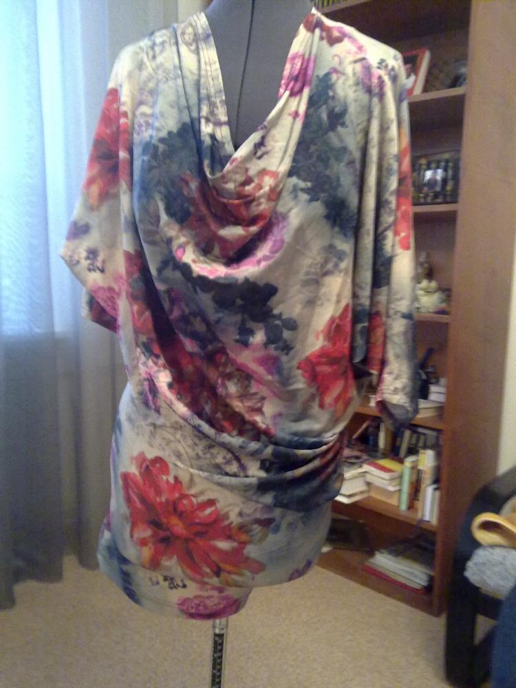 . платье с драпировкой лифа выкройка.