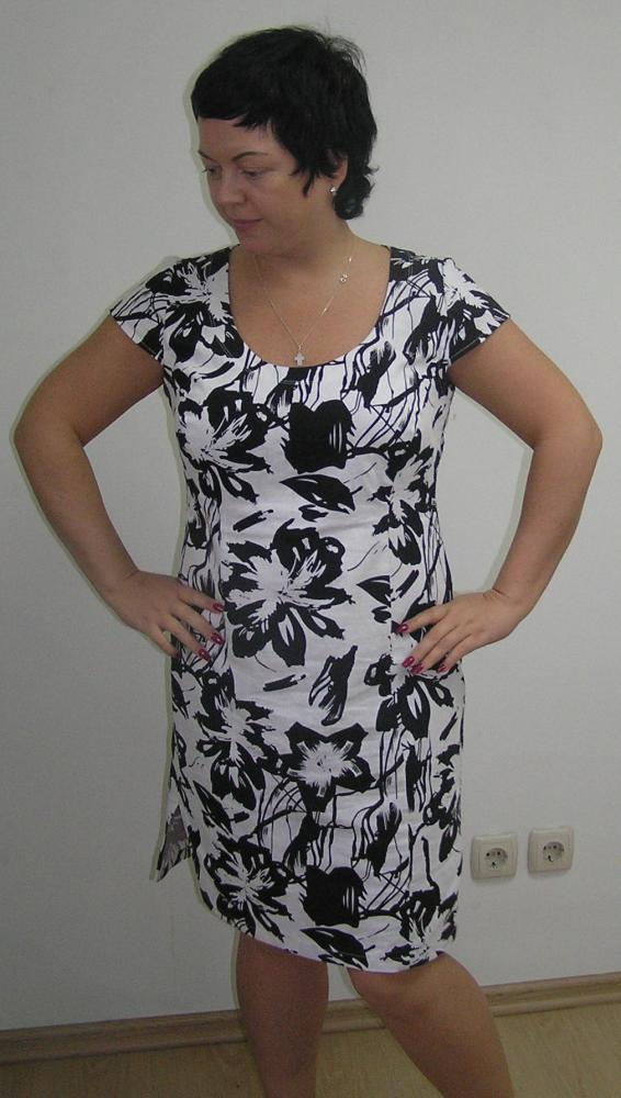 Выкройки платья из льняной ткани