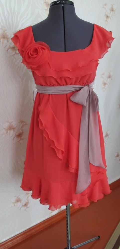 Оборки на платье своими руками 414